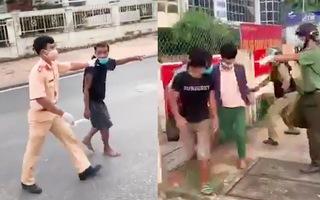 Video: Hàng chục đối tượng gây rối, bỏ chạy khỏi cơ sở cách ly tập trung ở Bình Thuận