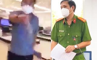 Video: Người đàn ông la lối ở siêu thị không thuộc bất cứ tổ chức phòng chống COVID-19 nào
