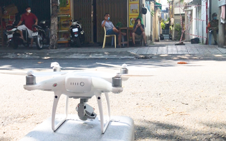 Video: Đà Nẵng bắt đầu xử phạt người dân không chấp hành quy định chống dịch từ hình ảnh flycam