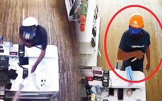 Video: Bắt nghi phạm cầm dao đe dọa nhân viên cửa hàng sữa cướp tiền