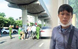 Video: Shipper 'thông chốt' tông trọng thương một cảnh sát ở Hà Nội