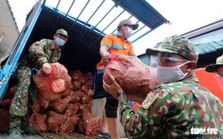 6.000 tấn rau sạch từ Lâm Đồng chuyển tặng TP.HCM bằng xe giường nằm máy lạnh