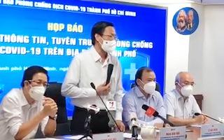 Chủ tịch UBND TP.HCM: 'Dịch tồn tại lâu dài, chúng ta phải thay đổi hành vi để đảm bảo an toàn'