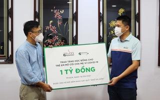 Tiếp nhận học bổng 1 tỷ đồng cho trẻ em mồ côi cha vẹ vì COVID-19 từ GREENFEED Việt Nam