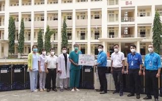 Thêm nguồn nước sạch cho các bệnh viện dã chiến thu dung điều trị Covid-19