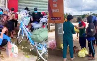 Video: Đang tìm cách hỗ trợ nhóm ngư dân đạp xe 1.000km về quê, bị 'kẹt' ở Đắk Nông