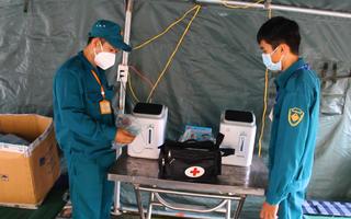 Video: Bình Dương lập trạm y tế lưu động tại 'phố thời trang', nơi phát hiện 73 F0