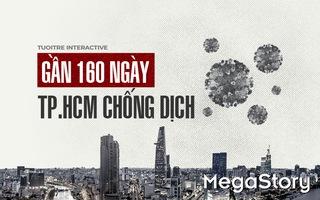 Gần 160 ngày TP.HCM chống dịch