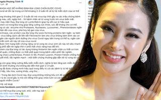 Video: Yêu cầu Angela Phương Trinh gỡ bỏ thông tin chữa COVID-19 từ giun đất