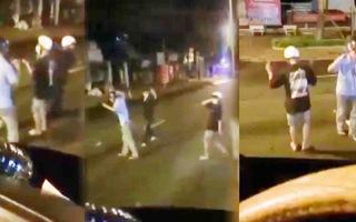 Video: Nhóm thanh niên ra đường mở nhạc nhảy nhót bất chấp quy định phòng chống dịch