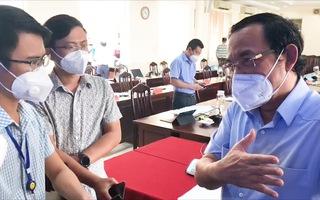 Bí thư Nguyễn Văn Nên: Không thể cứ lo dịch mà không lo sản xuất, phải bảo vệ 'sức khỏe' nền kinh tế