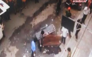 Rơi từ tầng 7 chung cư, một phụ nữ chết tại chỗ