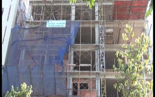 Đứt cáp khi thi công chung cư làm chết hai công nhân