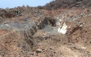 Yêu câu hoàn thổ dự án tìm kho báu Núi Tàu