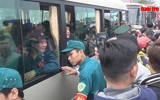 Lễ giao nhận quân tại Đà Nẵng năm 2017
