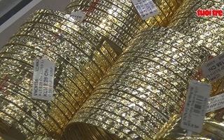 Vàng trong nước tăng hơn 1 triệu đồng/lượng