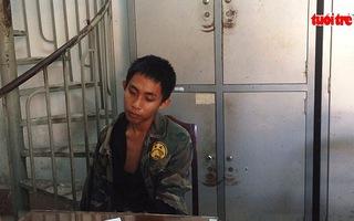 Truy đuổi hơn 140km bắt thanh niên ngáo đá cướp taxi