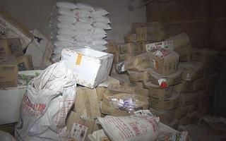 Công an TP.Vinh bắt 2,1 tấn thực phẩm bẩn