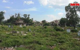 Sẽ cất bốc khoảng 4.000 ngôi mộ không có thân nhân tại nghĩa trang Bình Hưng Hòa