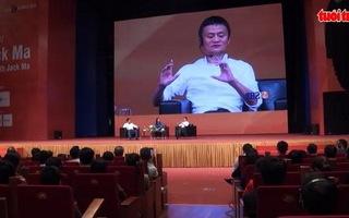 Tỷ phú Jack Ma truyền cảm hứng khởi nghiệp cho sinh viên Việt Nam