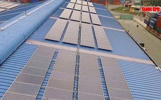 Cảng Sóng Thần lắp đặt hệ thống điện mặt trời lớn nhất VN