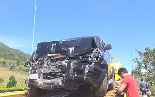 Ô tô tông máy cày trên cao tốc Liên Khương – đèo Prenn
