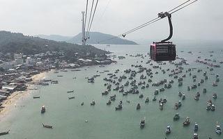 Tuyến cáp treo vượt biển dài nhất thế giới tại Phú Quốc