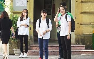 Lọt đề thi môn Văn tuyển sinh lớp 10 tại Hà Nội