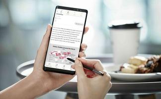 Cây bút thần kỳ S Pen trên Galaxy Note8