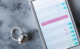 Nhẫn thông minh có thể kết nối và quản lý smartphone