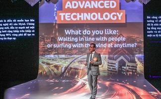 Show trình diễn công nghệ tại lễ khai trương Mytel
