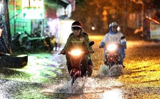 TP.HCM mưa dông do ảnh hưởng áp thấp