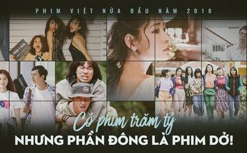 Phim Việt nửa đầu 2018: Có phim trăm tỉ nhưng phần đông là dở!