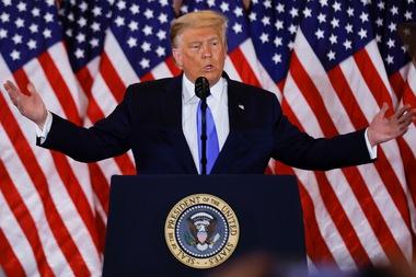 Ông Trump phát biểu từ Nhà Trắng: 'Chúng ta thắng rồi, thắng đậm'