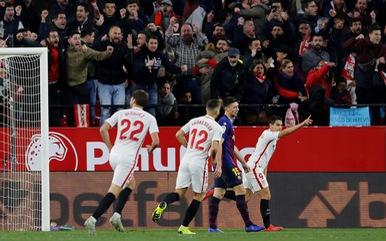 Barcelona thua trắng 0-2 ở tứ kết Cúp nhà vua