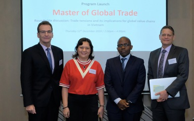 Chương trình thạc sĩ thương mại toàn cầu đầu tiên ở Việt Nam