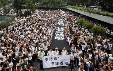 Hong Kong: đến lượt 'nhóm đầu bạc' xuống đường tuần hành vì giới trẻ