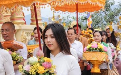 Độc đáo lễ cầu mưa và lễ dâng y Kathina tại làng Văn hóa - Du lịch các dân tộc Việt Nam