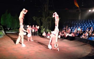 Xem Mekong Show, tiếc những hàng ghế còn trống
