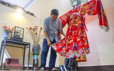 Chàng trai miền Nam mê mẩn chế tác phục sức triều Nguyễn