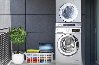 Cặp đôi hoàn hảo máy giặt Electrolux EWF12935S - máy sấy EDV7552S