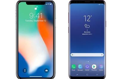 Đặt lên bàn cân Galaxy S9/S9+ và iPhone X