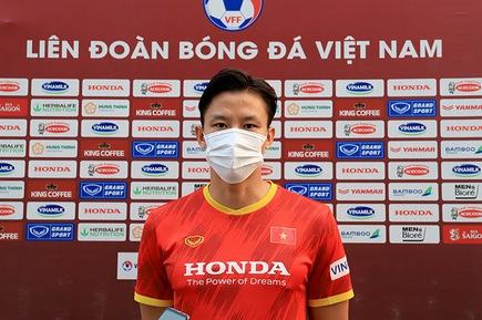 """Quế Ngọc Hải: """"Mục tiêu của đội tuyển Việt Nam là có điểm trước Nhật Bản, Saudi Arabia"""""""
