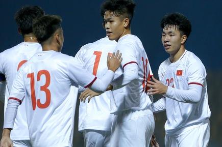 U23 Việt Nam thắng Kyrgyzstan 3-0 trước ngày dự vòng loại Giải U23 châu Á 2022