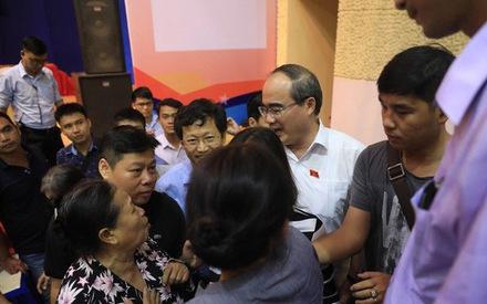 Sáng nay, Bí thư Nguyễn Thiện Nhân tiếp xúc cử tri quận 2