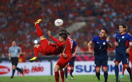 Việt Nam – Philippines (hiệp 2: 0-0): Philippines tăng sức ép, Việt Nam thay người