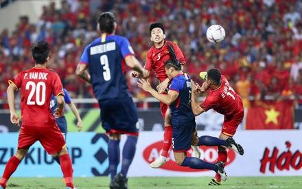 Việt Nam – Philippines (0-0): Văn Hậu bị đánh nguội trước khi hết hiệp 1