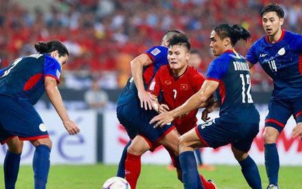 Việt Nam – Philippines (hiệp 2: 2-1): James rút ngắn tỉ số