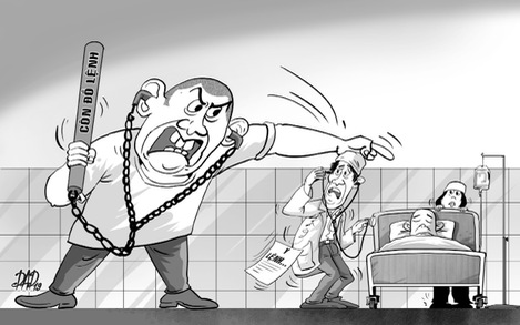 Trị thói côn đồ trong bệnh viện