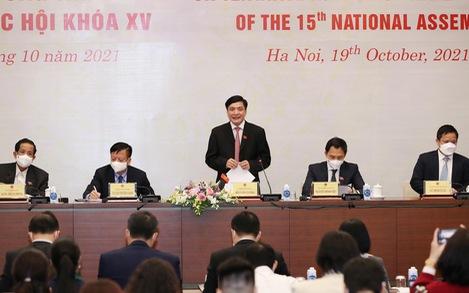 Kỳ họp thứ 2, Quốc hội khóa XV: Đẩy nhanh phục hồi kinh tế